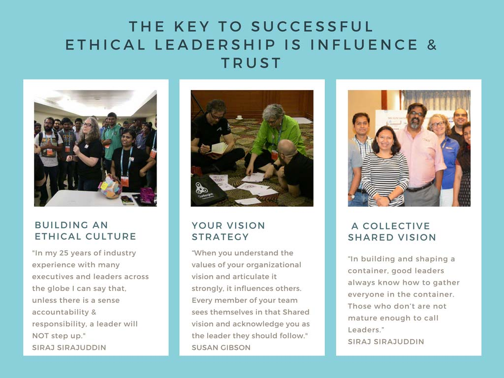 Leadership Lessons: Integrity is the basis of Trust, Ethical Culture