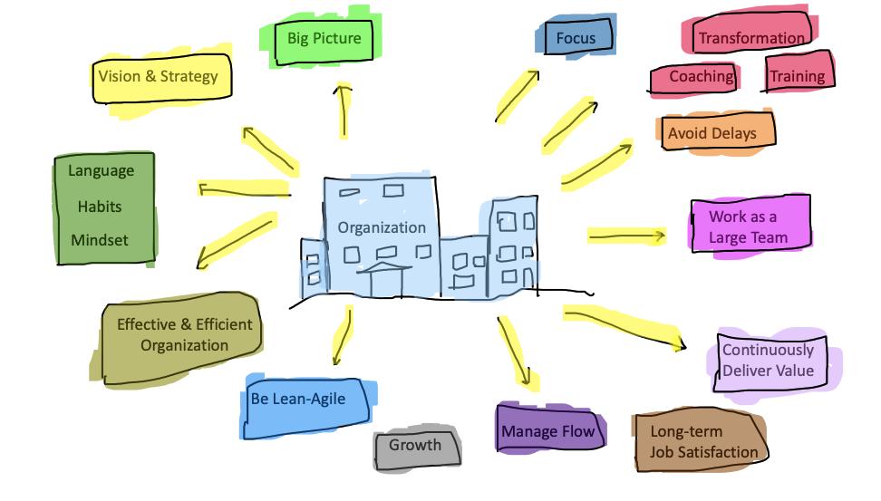 Organization Agile Transformation