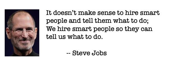 Steve Jobs Quotes Hire Smart People