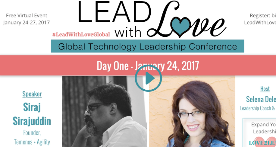 Lead with Love: Global Technology Conference - Interview with Siraj