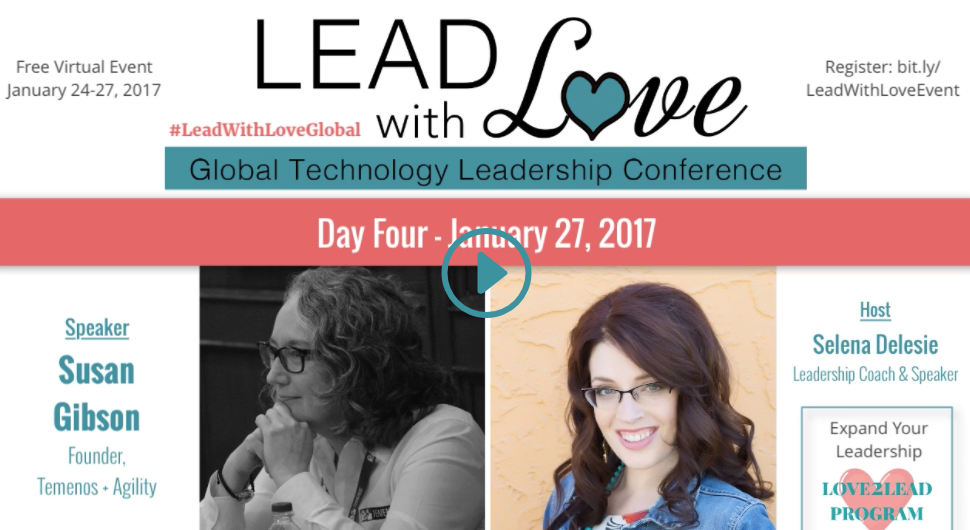 Lead with Love: Global Technology Conference - Interview with Susan