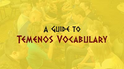 A Guide to Temenos Vocabulary