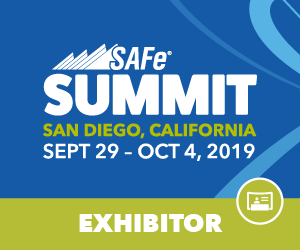 Exhibitor - Large Solution, Global SAFe® Summit 2019